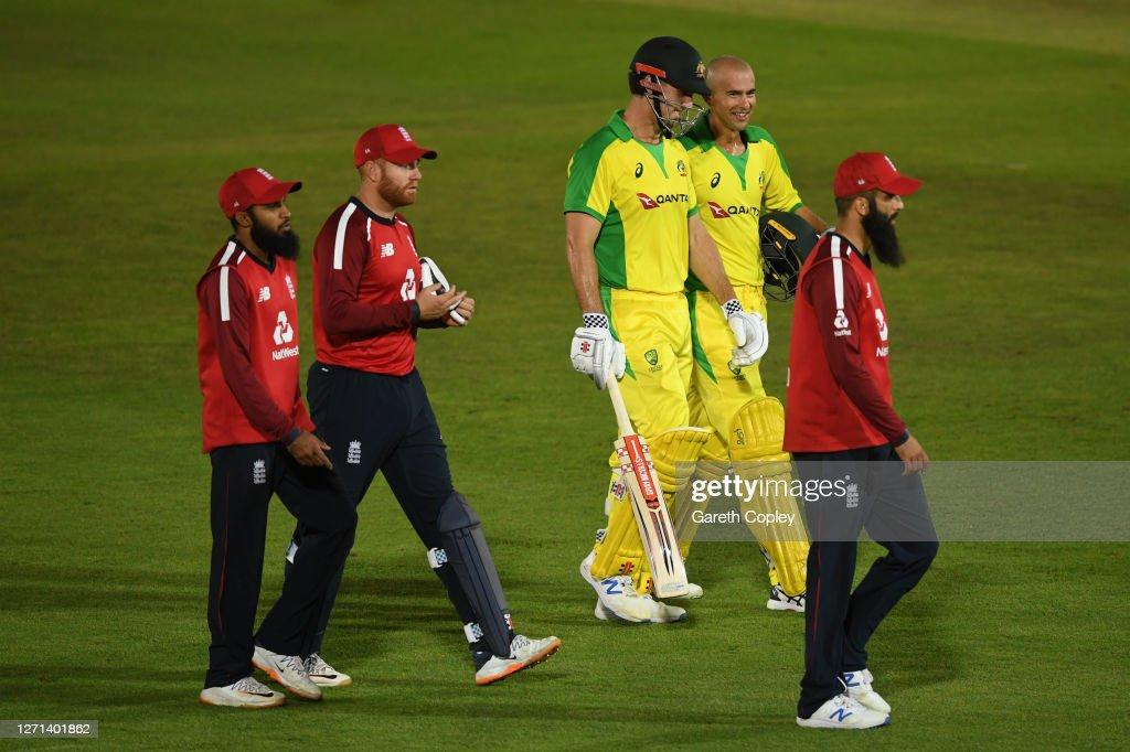 England v Australia - 3rd Vitality International Twenty20 : News Photo