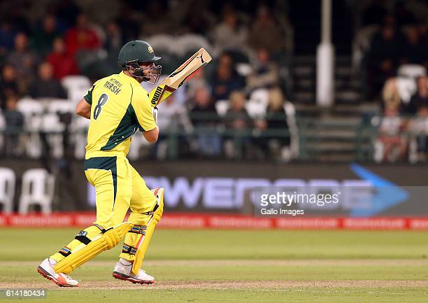 Mitchell Marsh of Australia during the Momentum ODI Series 5th ODI match between South Africa and Australia at PPC Newlands on October 12 2016 in...
