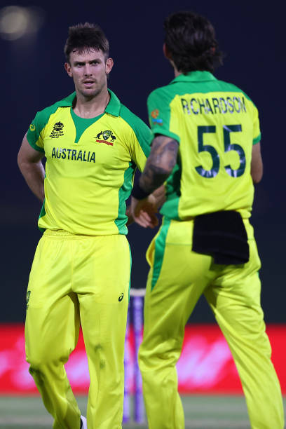 ARE: New Zealand v Australia: Warm Up Match - ICC Men's T20 World Cup 2021