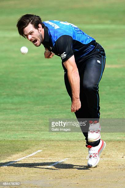 Mitchell McClenaghan of New Zealand during the 1st ODI match between South Africa and New Zealand at SuperSport Park on August 19 2015 in Centurion...