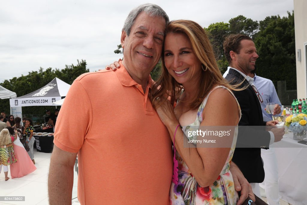 Mitchell Modell and Jill Zarin attend the Jill Zarin's 5th Annual Luxury Luncheon on July 29, 2017 in Southampton, New York.