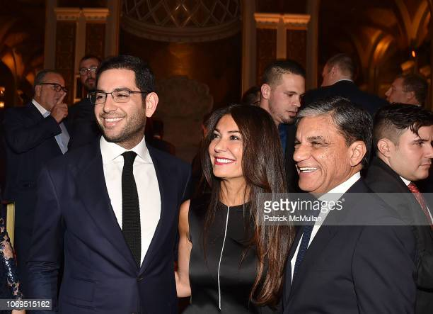 Mitchell Moinian Nazee Moinian and Joseph Moinian attend American Friends Of Rabin Medical Center 2018 Annual NYC Gala at The Plaza on November 19...