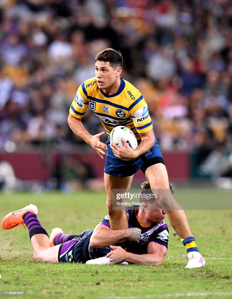 NRL Rd  9 - Storm v Eels : News Photo