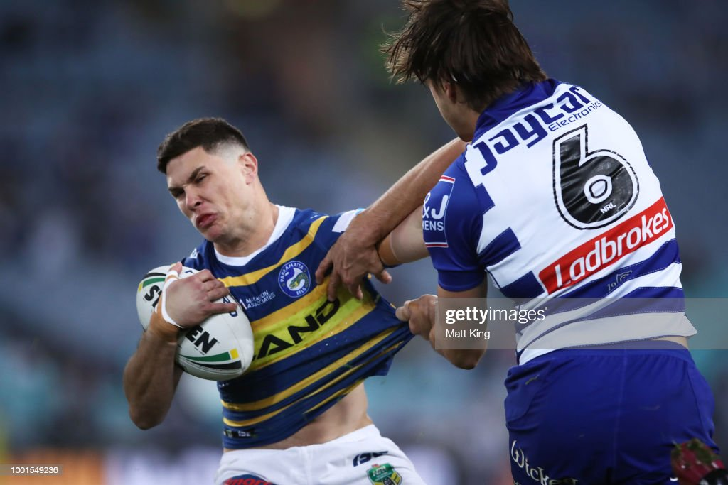NRL Rd 19 - Eels v Bulldogs : News Photo
