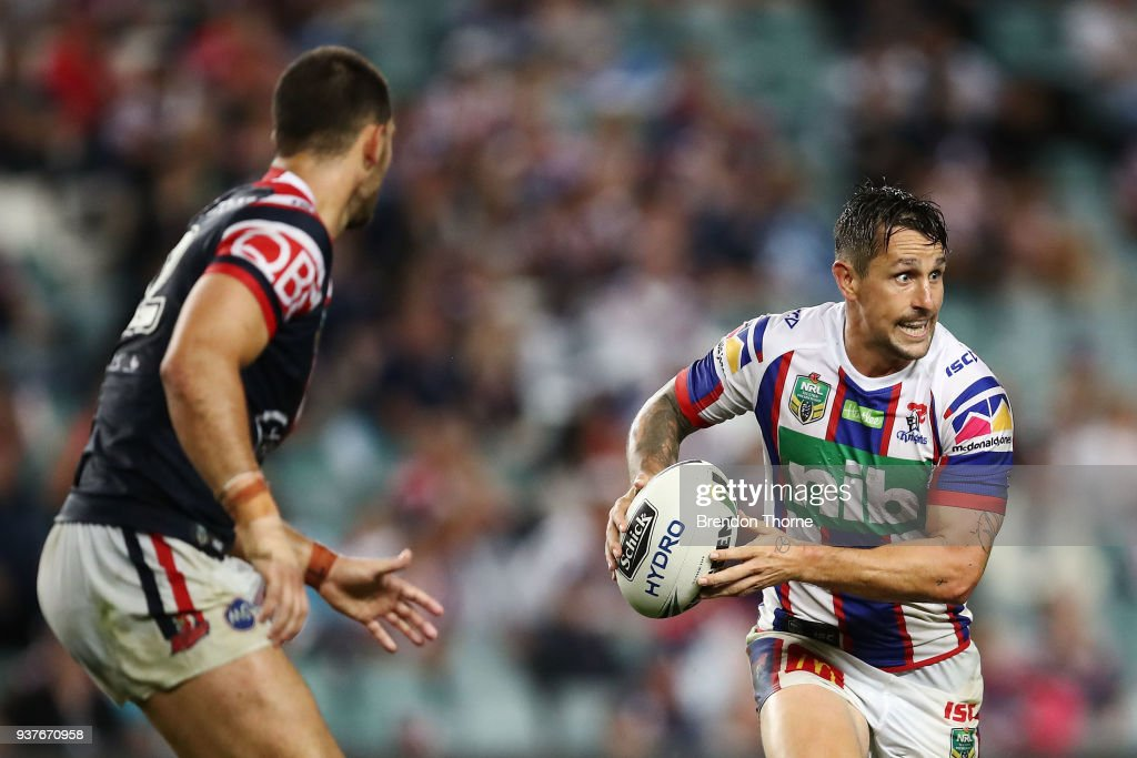 NRL Rd 3 - Roosters v Knights : News Photo