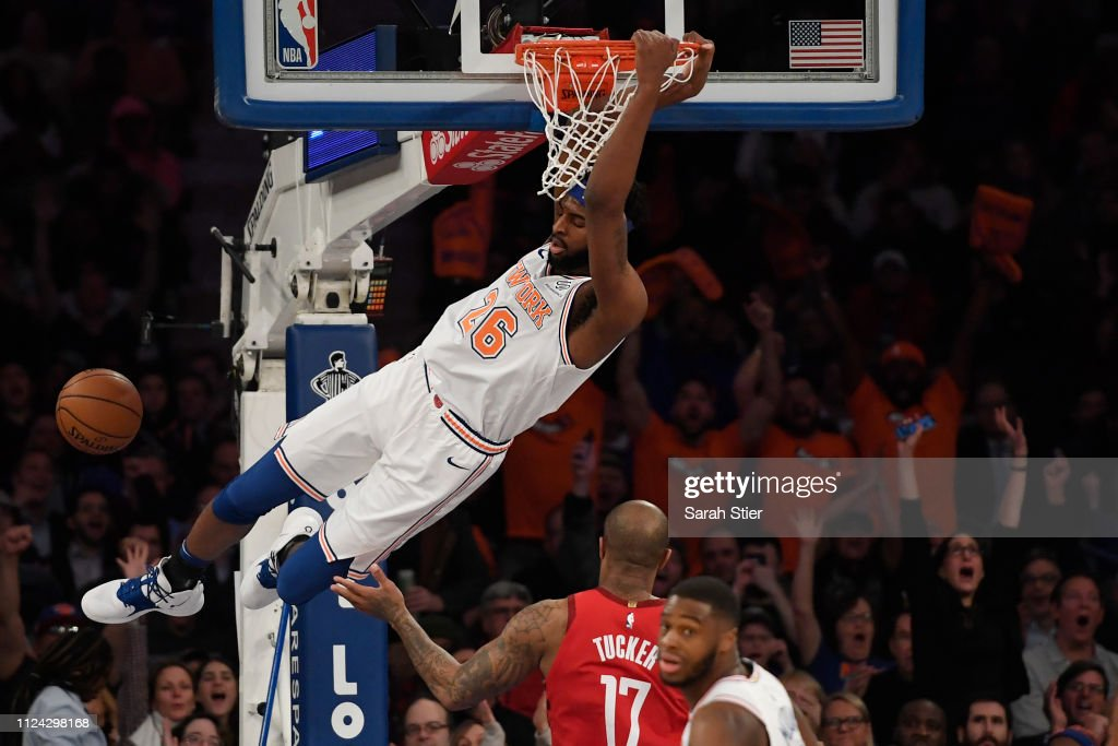 Houston Rockets v New York Knicks : Foto jornalística