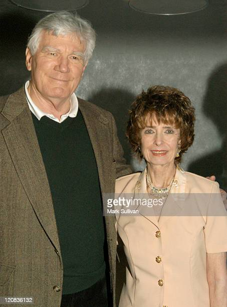 """Mitchell Ryan and Margaret O'Brien during Screen Actors Guild Foundation Launches """"Conversations With Kids"""" at Pacific Design Center in West..."""