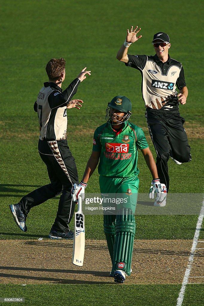 New Zealand v Bangladesh - 1st T20