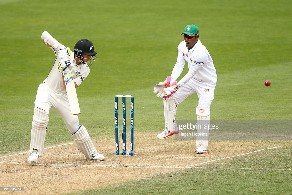 New Zealand v Bangladesh - 1st Test: Day 4