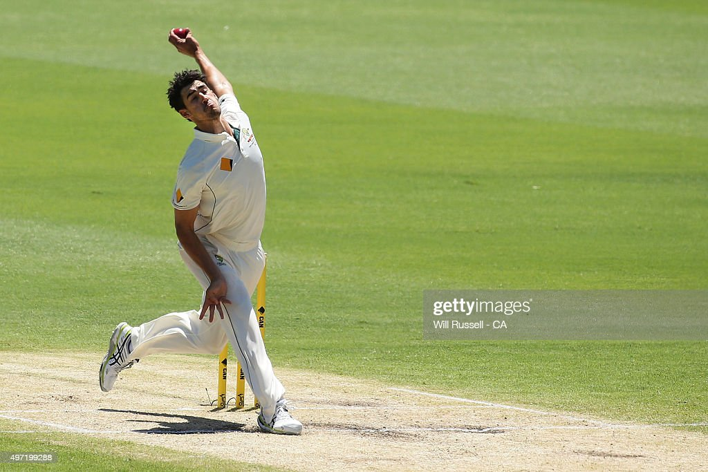 Australia v New Zealand - 2nd Test: Day 3 : News Photo