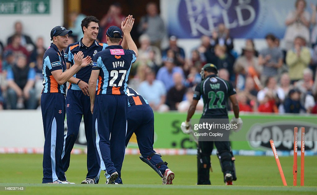 Yorkshire v Worcestershire - Friends Life T20 : News Photo