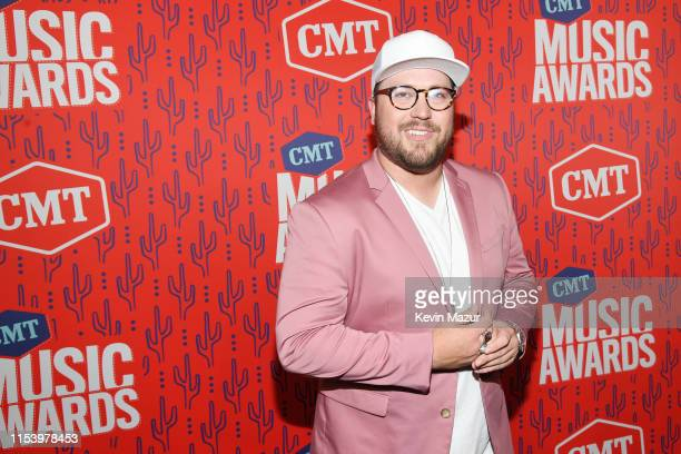 Mitchell Tenpenny attends the 2019 CMT Music Award at Bridgestone Arena on June 05 2019 in Nashville Tennessee
