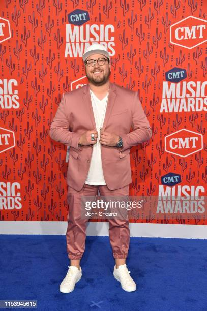 Mitchell Tenpenny attends the 2019 CMT Music Awards at Bridgestone Arena on June 05 2019 in Nashville Tennessee