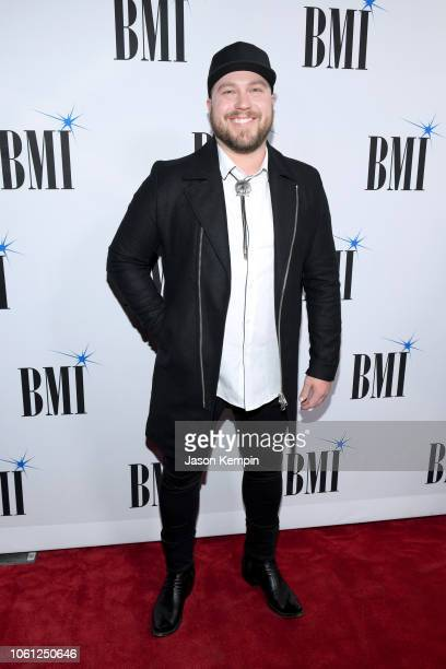 Mitchell Tenpenny attends the 66th Annual BMI Country Awards at BMI on November 13 2018 in Nashville Tennessee