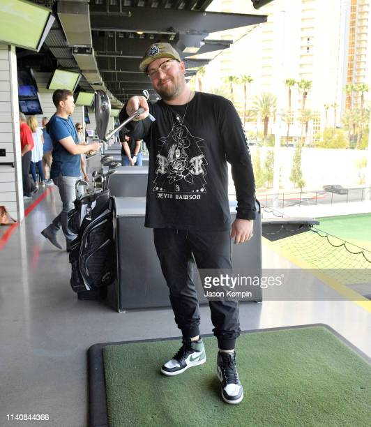 Mitchell Tenpenny attends the ACM Lifting Lives TOPGOLF TeeOff at TOPGOLF on April 06 2019 in Las Vegas Nevada