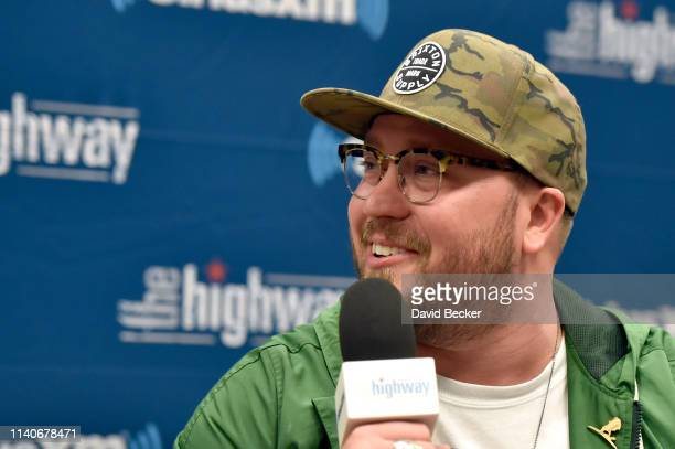 Mitchell Tenpenny attends the SiriusXM's The Highway broadcast backstage from the Academy of Country Music Awards at MGM Grand Garden Arena on April...