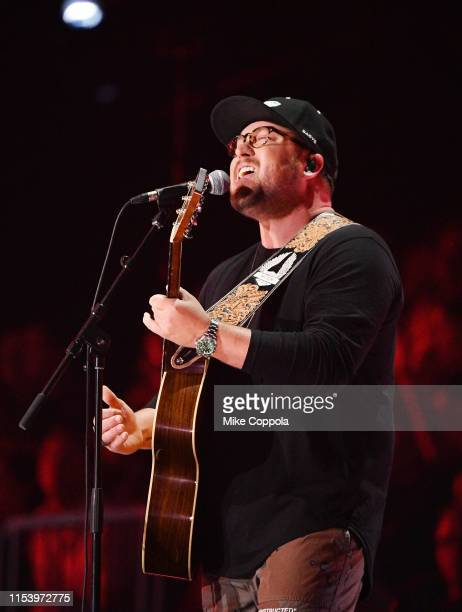 Mitchell Tenpenny performs at the 2019 CMT Music Awards at Bridgestone Arena on June 05 2019 in Nashville Tennessee