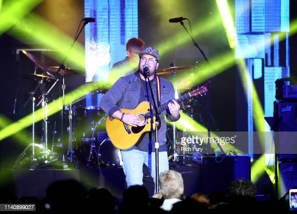 Mitchell Tenpenny performs onstage at ACM Lifting Lives® Decades on April 06 2019 in Las Vegas Nevada