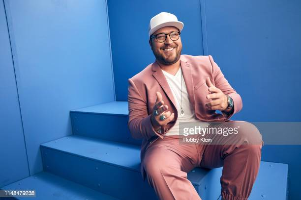 Mitchell Tenpenny poses for a portrait during the 2019 CMT Music Awards at Bridgestone Arena on June 5 2019 in Nashville Tennessee
