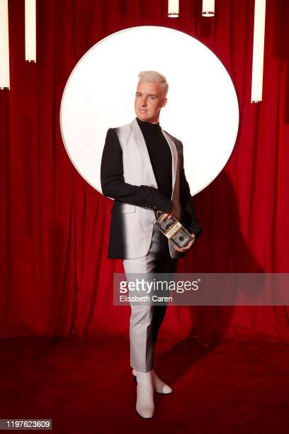 Mitchell Travers attends the 22nd Costume Designers Guild Awards at The Beverly Hilton Hotel on January 28 2020 in Beverly Hills California