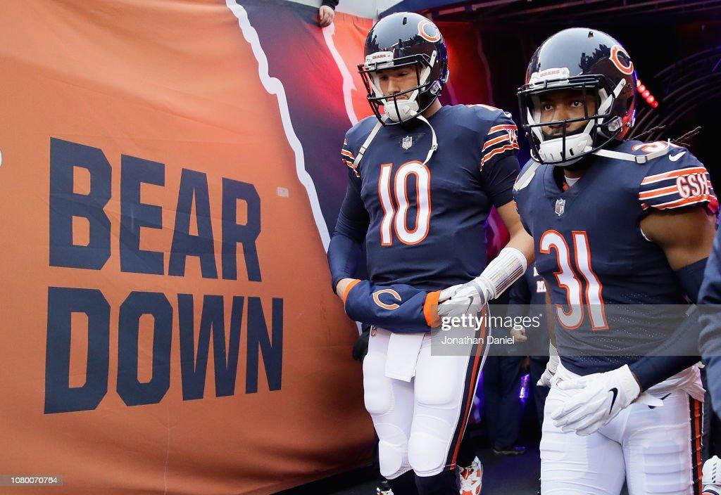 Wild Card Round - Philadelphia Eagles v Chicago Bears : News Photo
