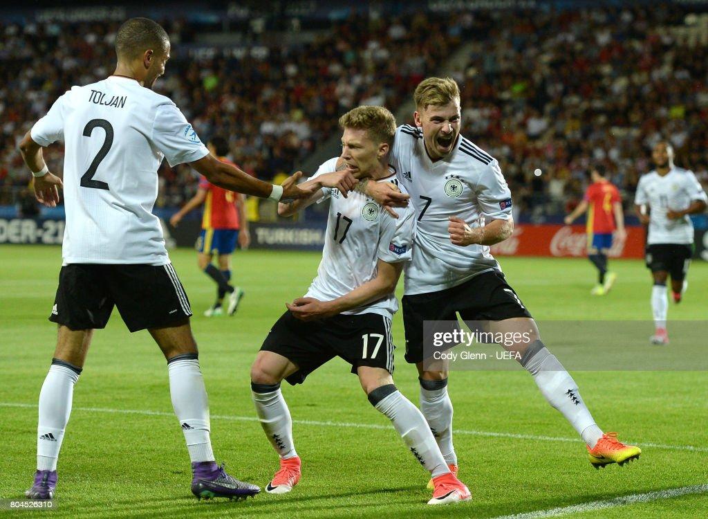 Germany v Spain - 2017 UEFA European Under-21 Championship Final : News Photo