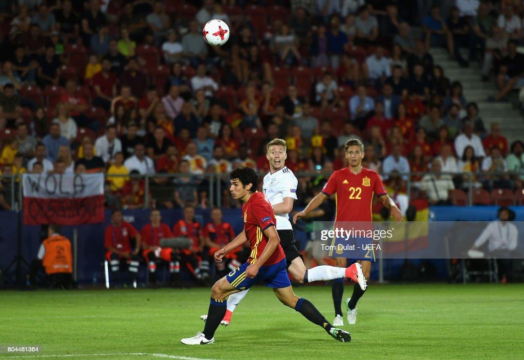 Germany v Spain - 2017 UEFA European Under-21 Championship Final