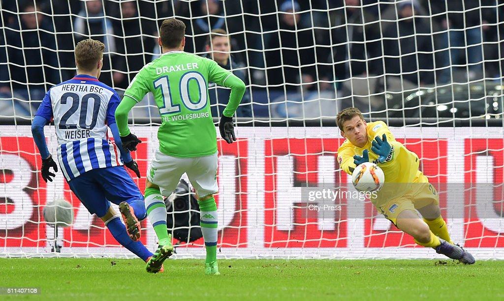 Hertha BSC v VfL Wolfsburg - 1 Bundesliga : News Photo