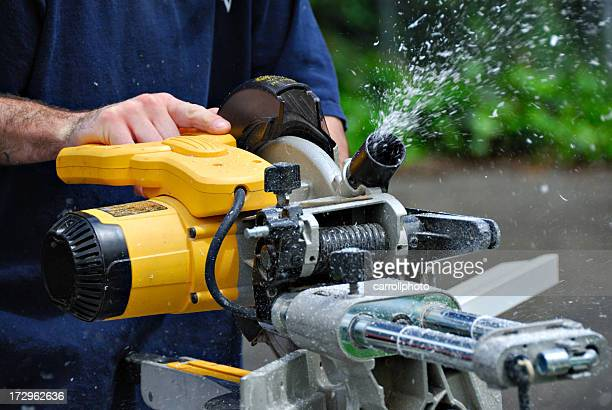V-Muster Saw-Renovierung der