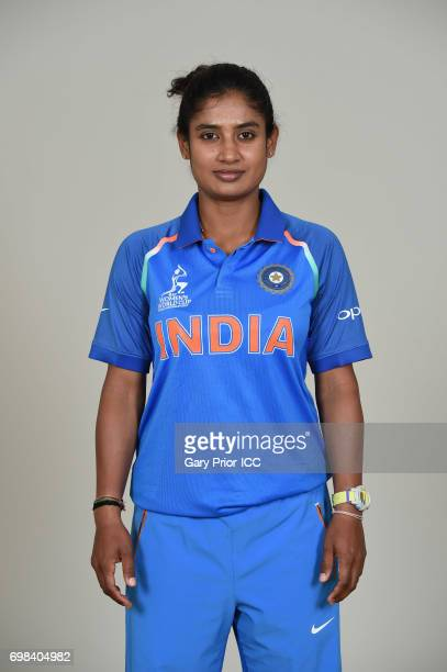 Mithali Raj of India on June 20 2017 in Derby England