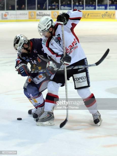 Mitja SIVIC / Greg OWEN Grenoble / Briancon Finale Ligue Magnus 2008/2009 Match 4 Grenoble
