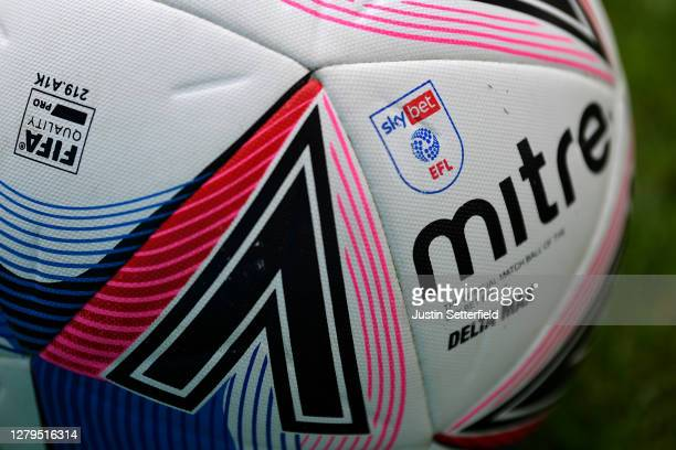Mitre EFL match ball during the Sky Bet League One match between Gillingham and Oxford United at MEMS Priestfield Stadium on October 10, 2020 in...