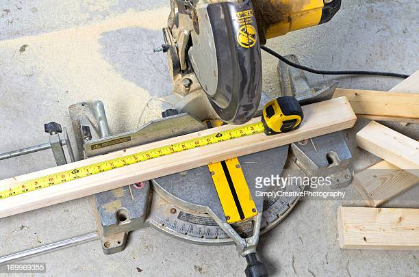 Mitre Saw with Tape Measure