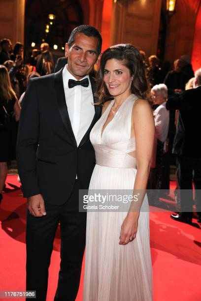 Mitri Sirin and Katty Salie during the Hessian Film and Cinema Award at Alte Oper on October 18 2019 in Frankfurt am Main Germany