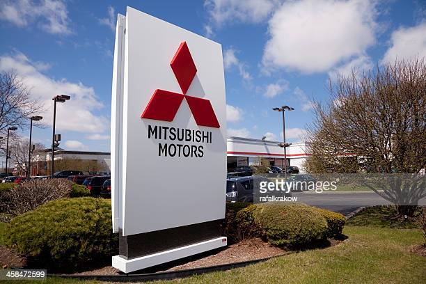 Mitsubishi dealership sign