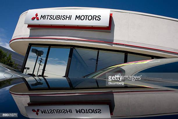 Mitsubishi Eclipse sits on display at Mile High Mitsubishi in Denver Colorado US on Friday July 3 2009 Suzuki Motor Corp and Mitsubishi Motors Corp...