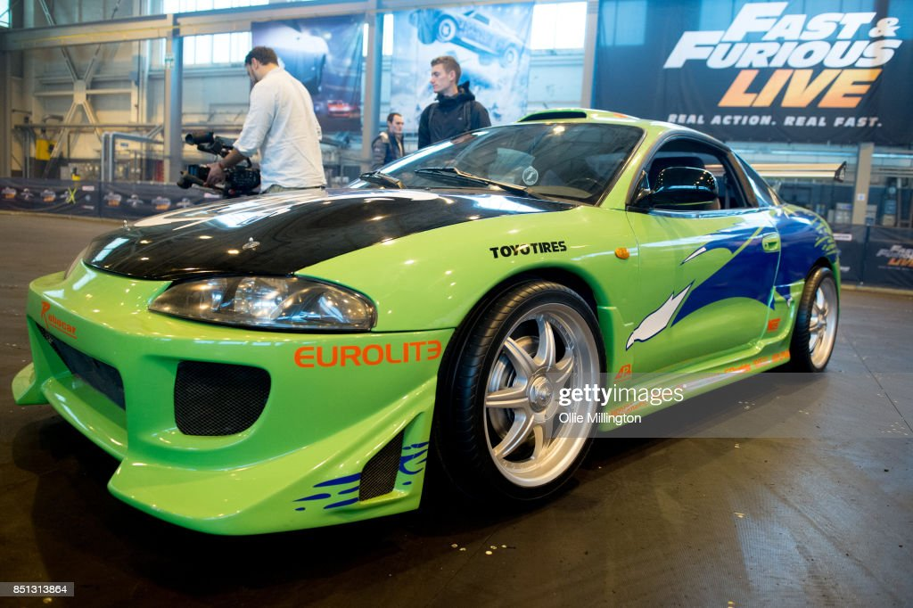 A Mitsubishi Eclipse used onscren in The Fast and The Furious seen