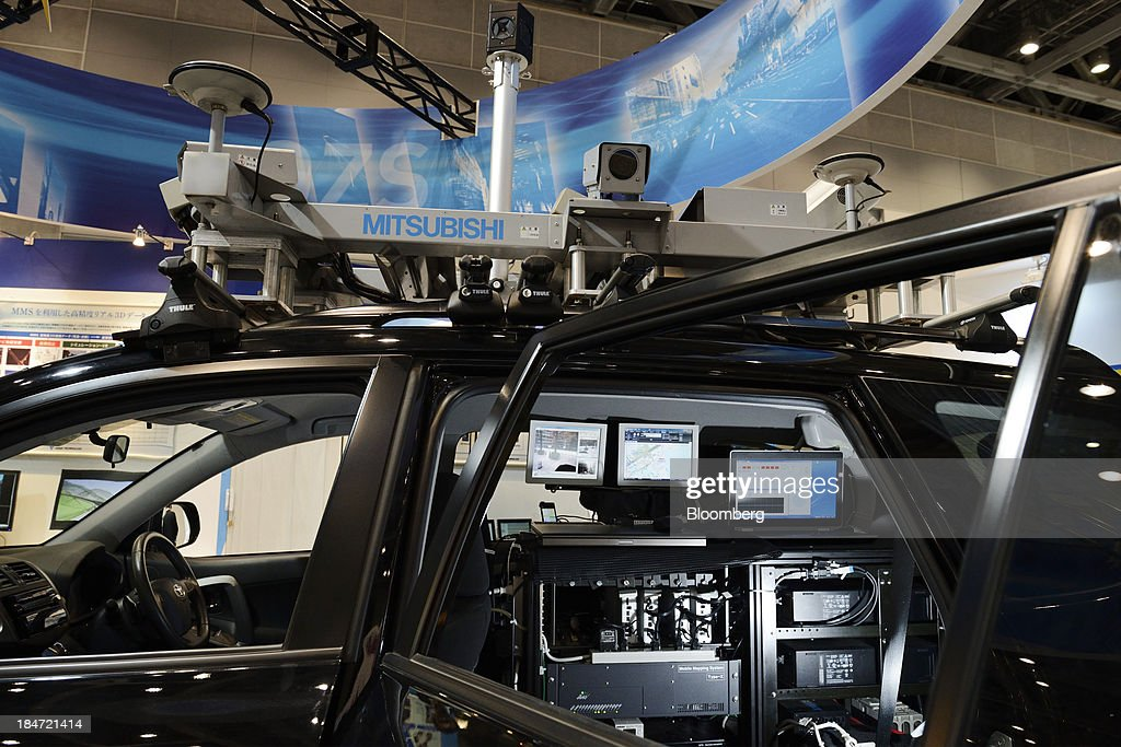 A Mitsubishi Electric Corp  mobile mapping system is