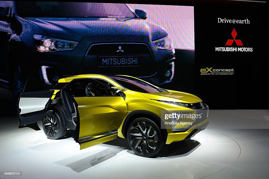 Mitsubishi Motor Cos Ex Concept Is Displayed During The Tokyo Motor