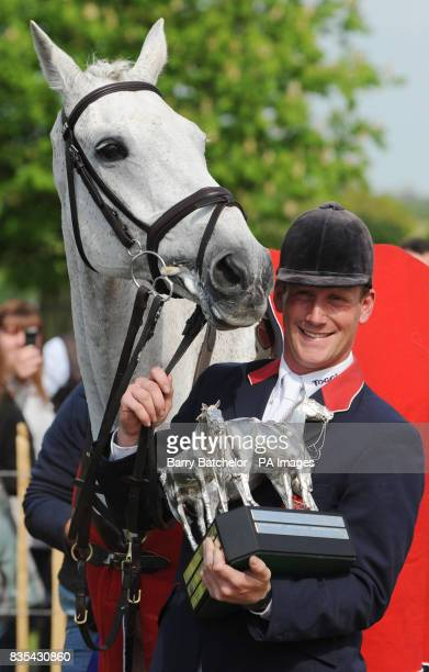 Mitsubishi Motors Badminton Horse Trials winners Oliver Townend and Flint Curtis