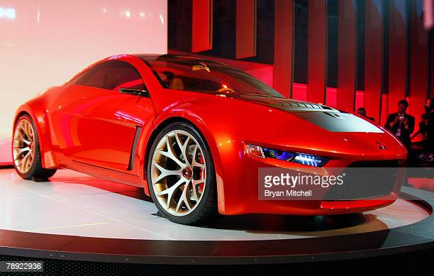 Mitsubishi Motors shows off the Concept RA to the world automotive media during the press preview days at the North American International Auto show...