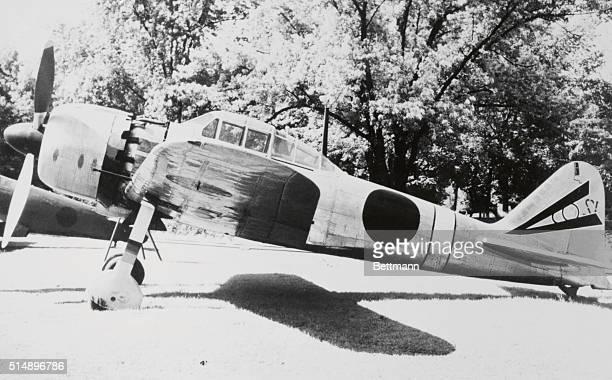 A Mitsubishi Zero 52 Japanese World War II Plane