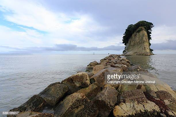 mitsukejima - hokuriku region stock photos and pictures