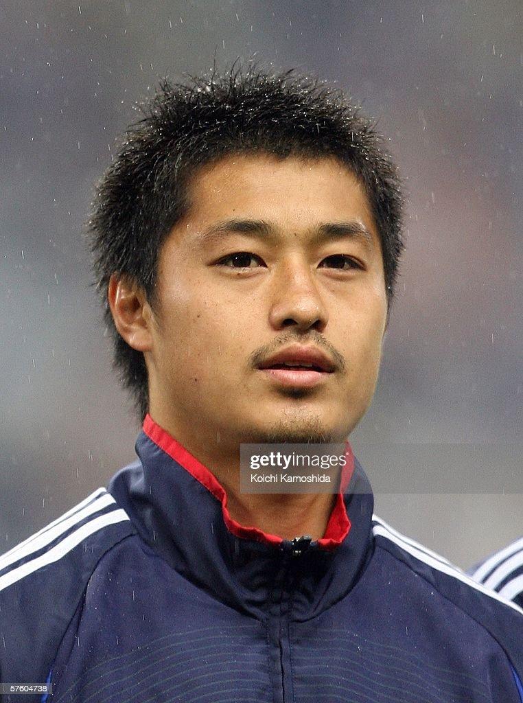 Mitsuo Ogasawara of Japan is seen during the Kirin Cup Soccer 2006 between Scotland and Japan at the Saitama stadium on May 13, 2006 in Saitama, Japan.
