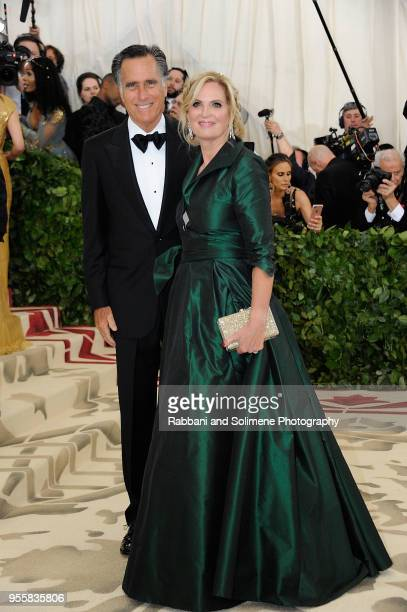 Mitt Romney and Ann Romney attends Heavenly Bodies Fashion The Catholic Imagination Costume Institute Gala at the Metropolitan Museum of Art in New...
