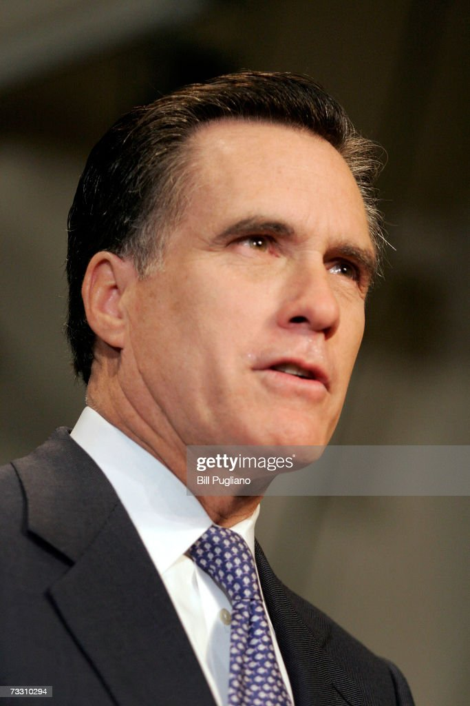 Mitt Romney Announces Run For The White House Photos And Images - Governor of massachusetts