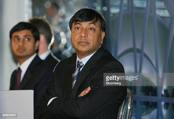 Mittal Steel Co Chairman Lakshmi Mittal listens during a news conference in London June 13 2006 Mittal Steel Co trying to buy rival Arcelor SA said...