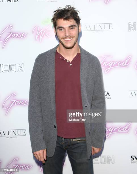 Mitte arrives at the Los Angeles premiere of Neon's Ingrid Goes West held at ArcLight Hollywood on July 27 2017 in Hollywood California