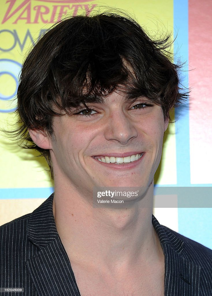 R.J Mitte arrives at Variety's 6th Annual Power Of Youth Event at Paramount Studios on September 15, 2012 in Hollywood, California.