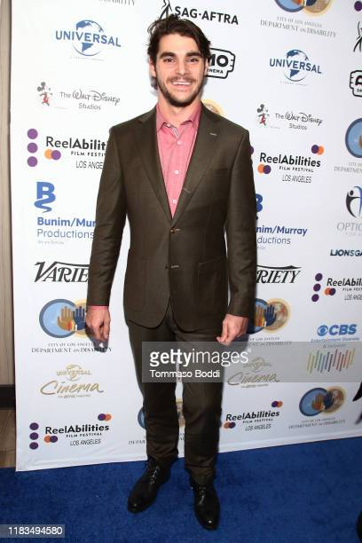 """Mitte attends the 2019 Reelabilities Film Festival Opening Night And Gala For """"The Peanut Butter Falcon"""" at Universal CityWalk Cinemas on October 25,..."""